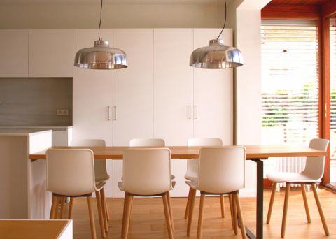 140平米一居室北欧风格装修图片