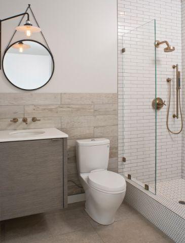 文艺浴室装修设计
