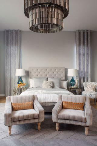 美好白色卧室装修图