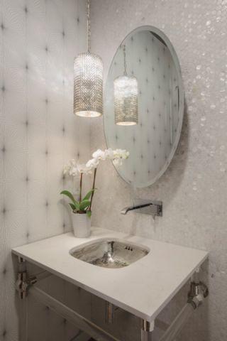 真实卫生间背景墙装修案例图片