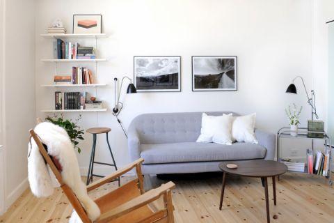 69平米二居室北欧风格装修图片