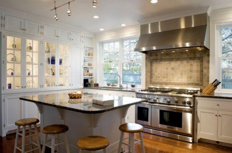 2018美式90平米装饰设计 2018美式三居室装修设计图片