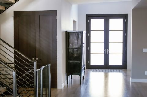 现代风格四合院164平米装修图片