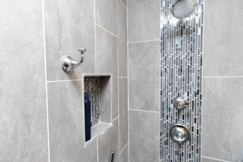 现代浴室细节效果图