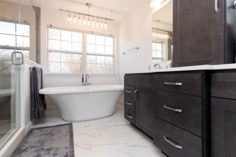 文艺浴室室内装修图片