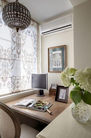 2019美式书房装修设计 2019美式书桌装修图片