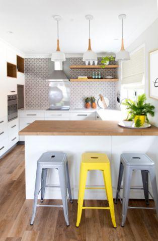 北欧风格二居室120平米装饰设计图片