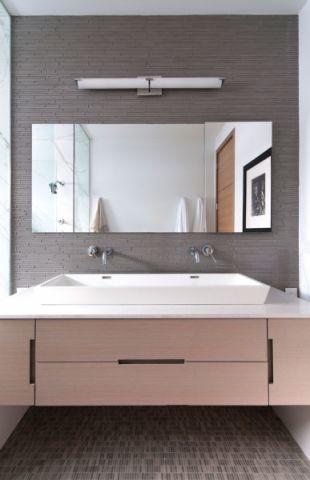 厨房现代风格效果图大全2017图片_土拨鼠温暖纯净厨房现代风格装修设计效果图欣赏