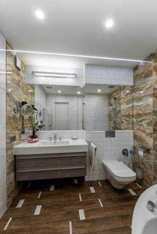 2020混搭浴室设计图片 2020混搭地板砖装饰设计