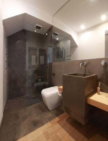 浴室白色隔断图片