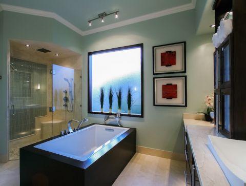 119平米三居室现代风格装修图片