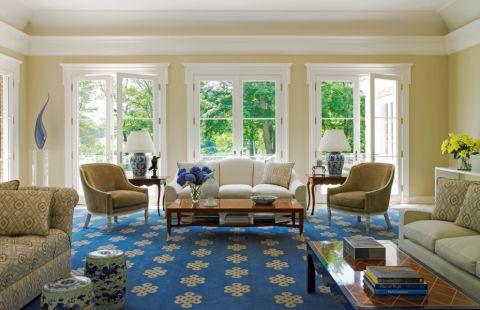 别墅235平米美式风格装修图片