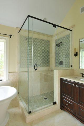 摩登浴室隔断装饰设计图片