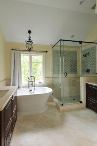 唯美浴室美式设计图