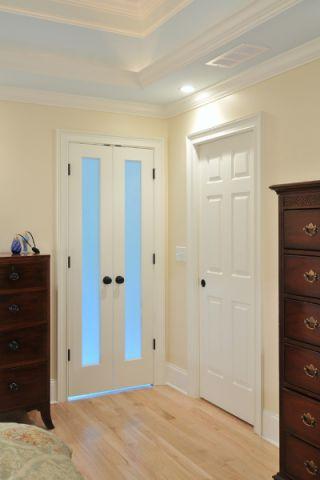 卧室推拉门美式装饰效果图