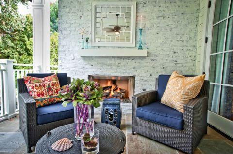 清新素丽灰色沙发装修设计图片