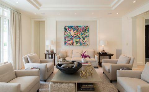 156平米别墅美式风格装修图片
