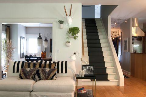 126平米别墅混搭风格装饰实景图片