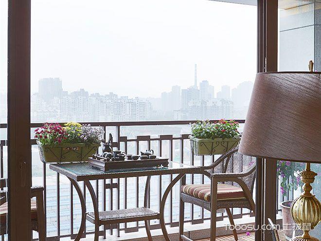 阳台上的古韵茶香 11款禅韵阳台装修
