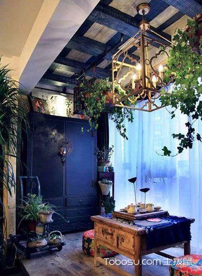 2018现代起居室装修设计 2018现代吊顶装修图片