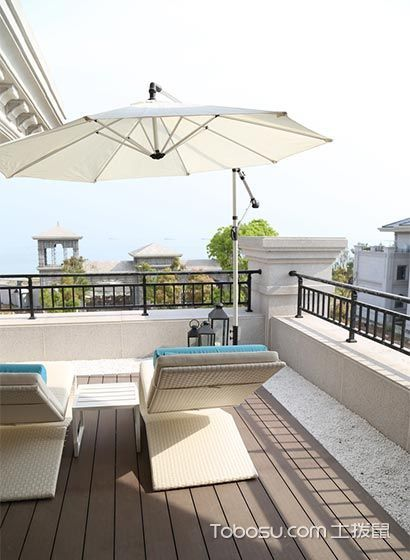 阳台白色沙发田园风格装饰图片