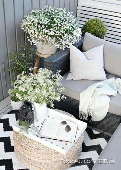 美式阳台细节装饰实景图片