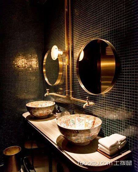 10个中式风格卫生间装修效果图 古典与现代交融