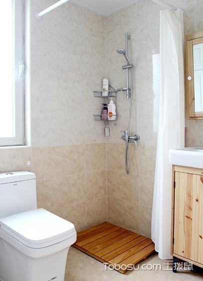 眩亮卫生间背景墙装潢设计图片