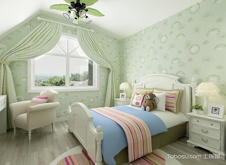 简约绿色卧室装修设计