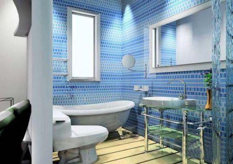 60平米套房地中海风格装修