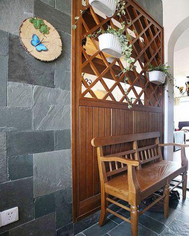公寓91平米欧式风格装潢设计图片