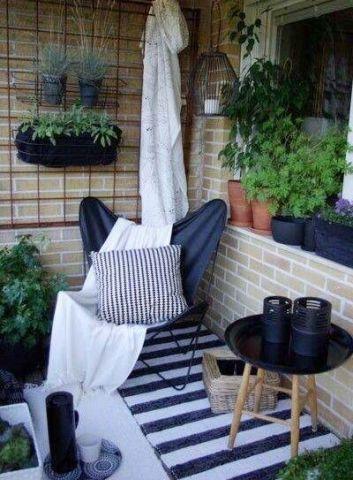 阳台沙发美式风格装饰效果图