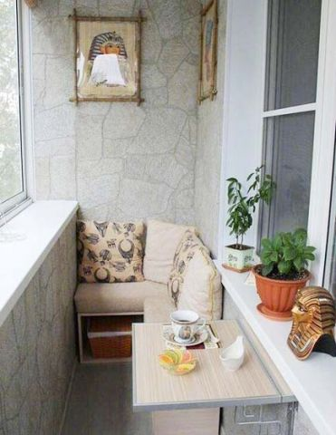 阳台沙发美式风格装饰图片