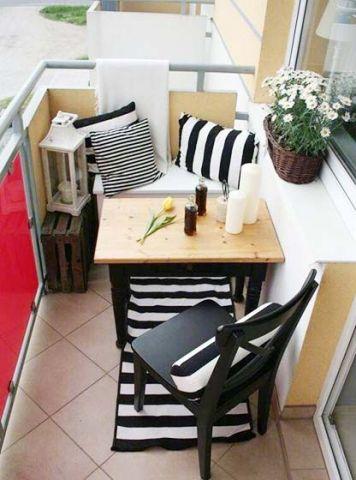阳台沙发美式风格装修图片