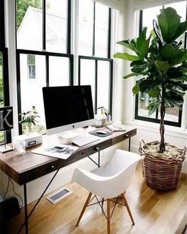 阳台书桌现代装潢设计图片