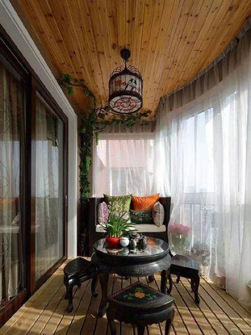 真实阳台窗台装修方案