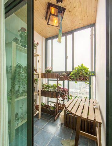 阳台落地窗现代装修