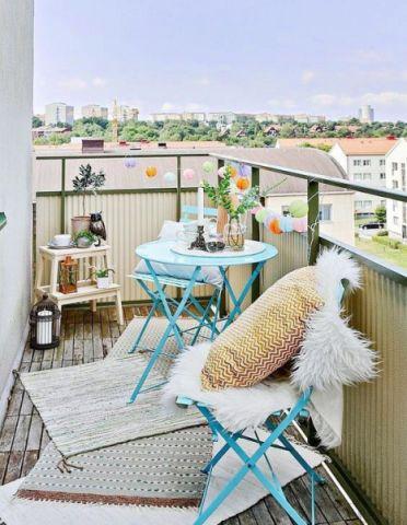 富丽田园蓝色沙发设计方案