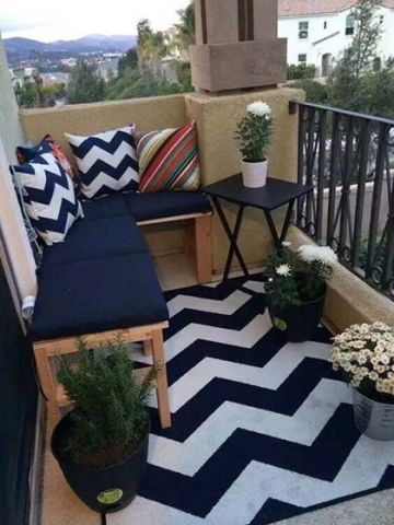 朴素温馨阳台田园装饰设计图片