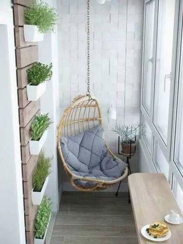 阳台沙发现代效果图