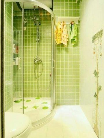 清新浴室室内装修图片
