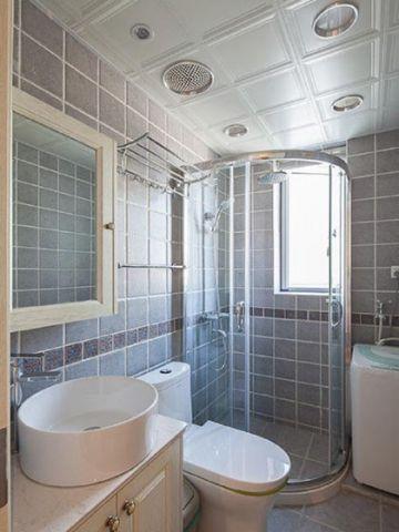 精致浴室隔断设计图欣赏