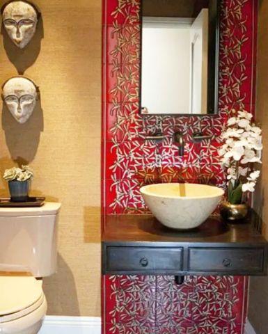 朴素温馨浴室装修案例