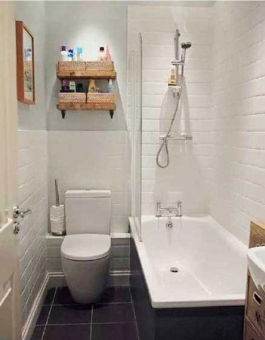 卫生间白色走廊装修案例