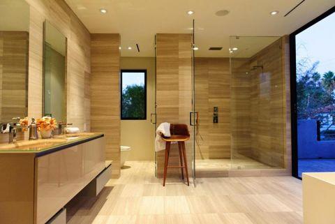 风雅浴室背景墙装修案例效果图