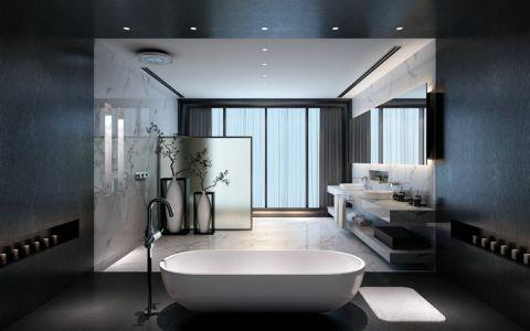 美感浴室现代装饰效果图