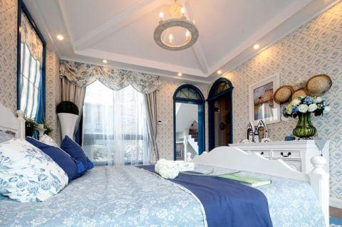卧室床地中海装饰优乐娱乐官网欢迎您