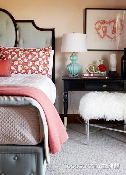 卧室黑色书桌简约风格装潢图片