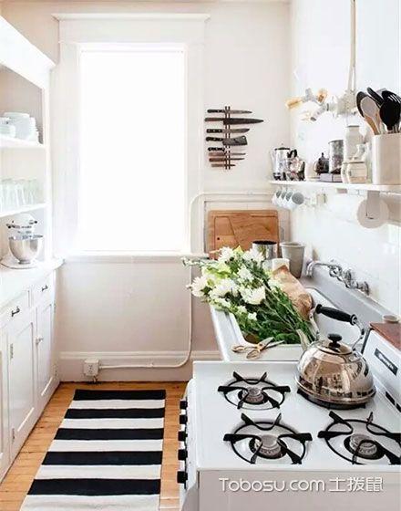 小空间的华丽转身 12个小户型厨房装修效果图