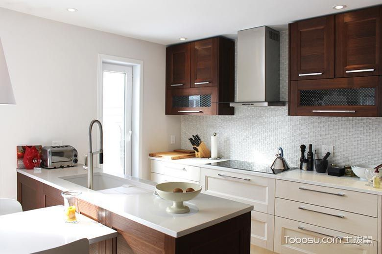 热爱内心感受  10款休闲厨房装修效果图